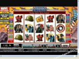 online spielautomat Captain America CryptoLogic