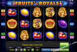 online spielautomat Fruits and Royals Novomatic