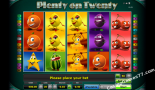 online spielautomat Plenty on twenty Greentube